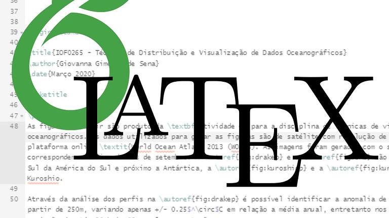 """Minicurso 2B """"Introdução ao LaTeX"""""""