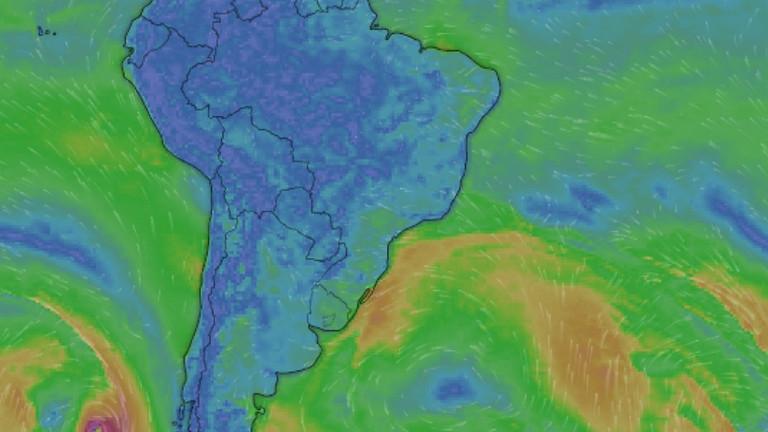 """Minicurso 1B """"Tópicos de meteorologia sinótica com aplicação à oceanografia"""""""