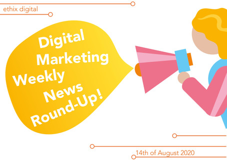 Weekly Digital Marketing News Round-Up | August 14th