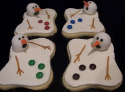 4 December Melting Snowman