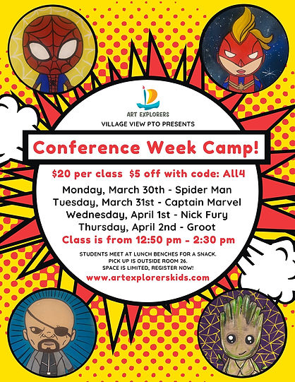 Village View Conference Week Camp Spring