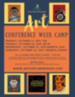2019 Circle View Fall Conference Week Ca