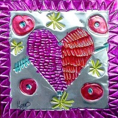 6 Feburary Tin Hearts