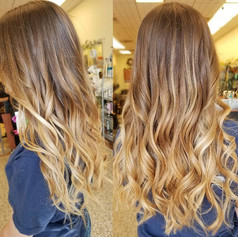 A beautiful balayage for this bride to be
