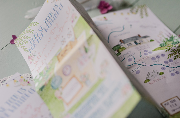 Wedding Map Project.