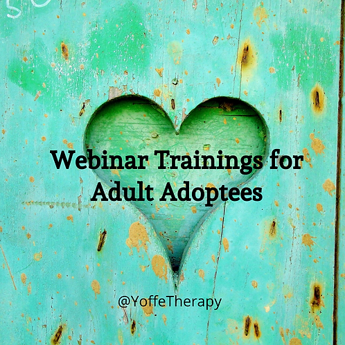 ADULT ADOPTEE MENTAL HEALTH SUPPORT WEBINAR