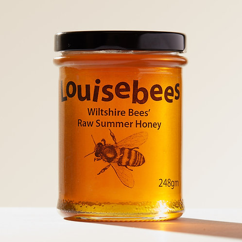 248gm Wiltshire Bees' Raw Summer Honey