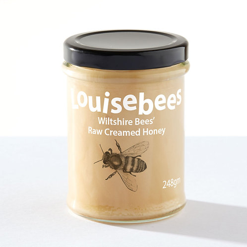 248gm Wiltshire Bees' Raw Creamed Honey