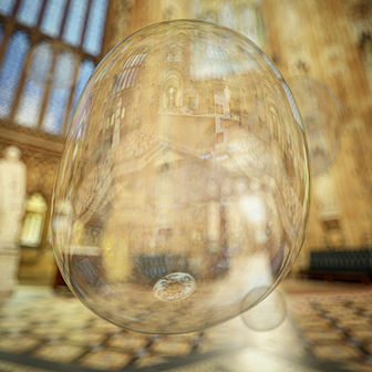 Bubble Central Lobby Palace of Westminster