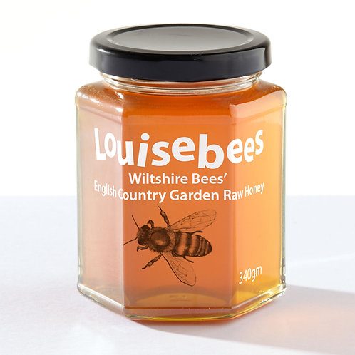 340gm Wiltshire Bees' English Country Garden Raw Honey