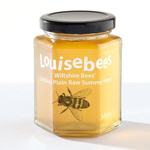 340gm Wiltshire Bees' Salisbury Plain Raw Summer Honey