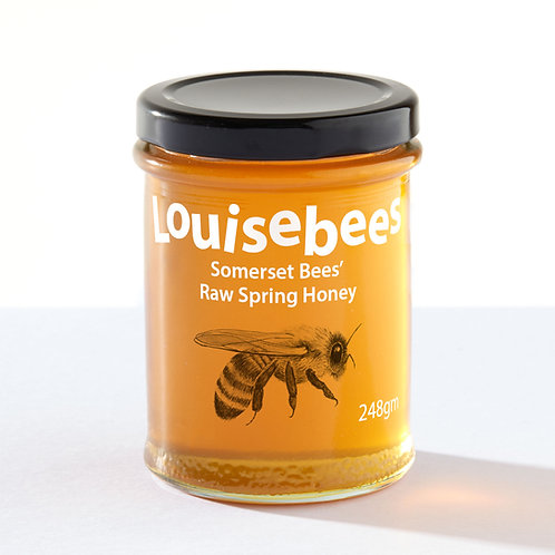 248gm Somerset Bees' Raw Spring Honey