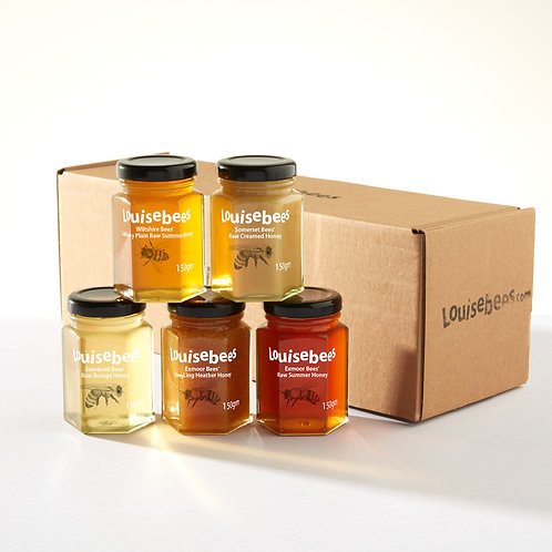 5 Varieties of Honey Selection Box