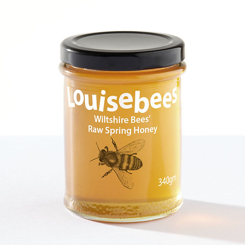 248gm Wiltshire Bees' Raw Spring Honey