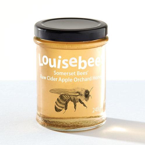 248gm Somerset Bees' Raw Cider Apple Orchard Honey
