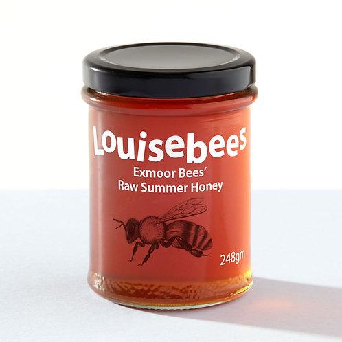 248gm Exmoor Bees' Raw Summer Honey