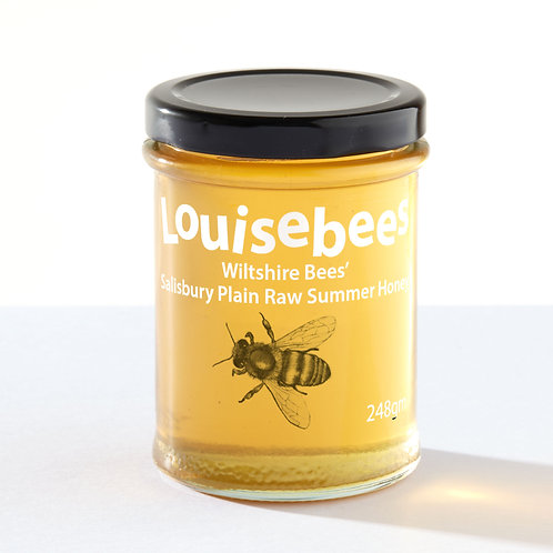 248gm Wiltshire Bees' Salisbury Plain Raw Summer Honey