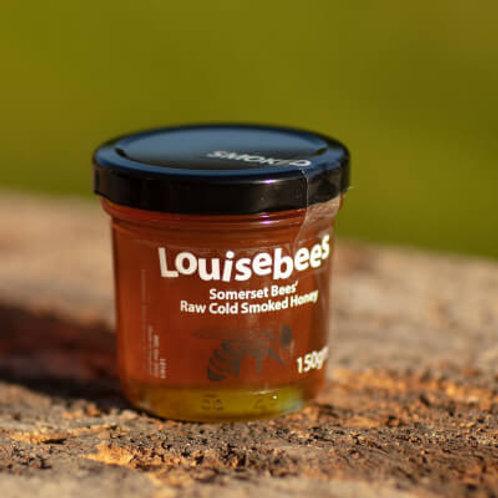 150gm Somerset Bees' Raw Cold Smoked Honey