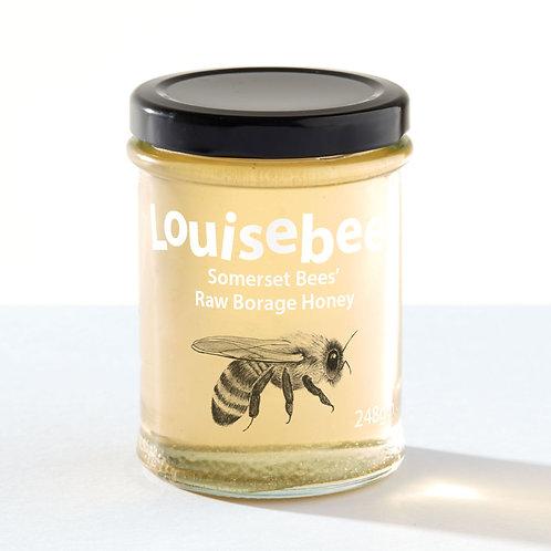 248gm Somerset Bees' Raw Borage Honey