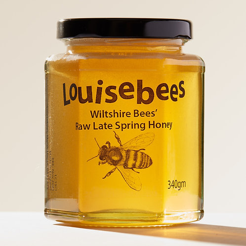 340gm Wiltshire Bees' Raw Late Spring Honey
