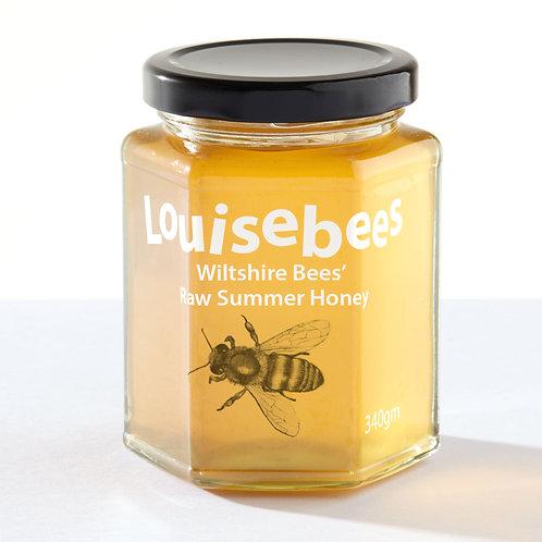 340gm Wiltshire Bees' Raw Summer Honey