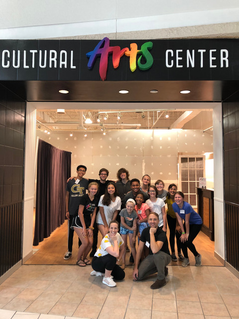 Master Classes lead by Brittany and fellow Guest Artists at Cultural Arts Center Charleston, 2019