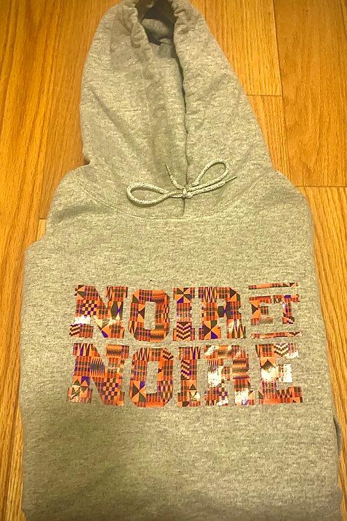 Noir Et Noire Kente hoodie