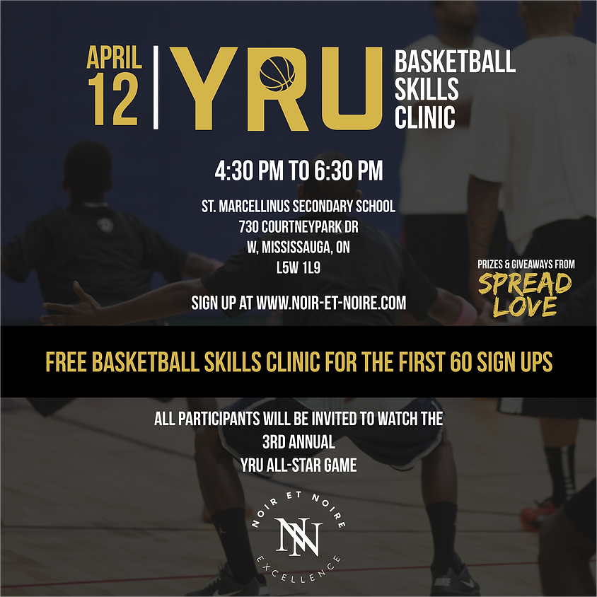 YRU Free Basketball Skills Clinic