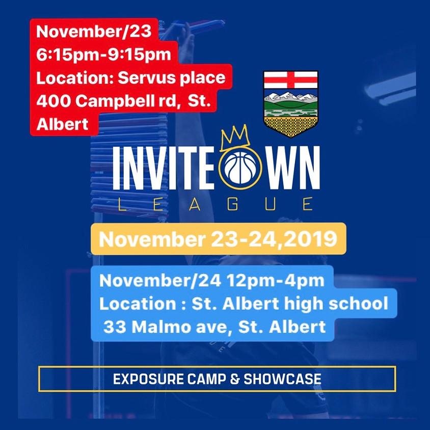 Invite Own League Camp & Showcase