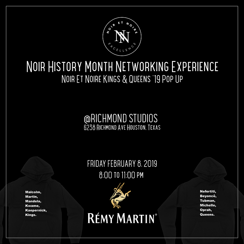 Noir History Month Networking Experience