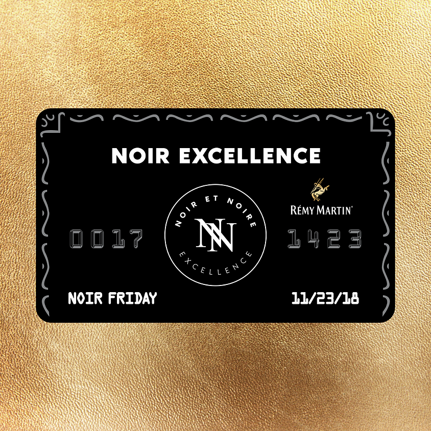 Noir Friday sponsored by Rémy Martin