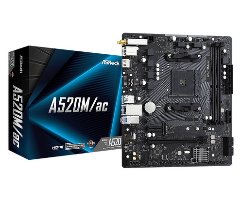 ASRock A520M/AC- AMD