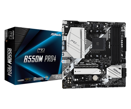 ASRock B550M Pro4 (AMD)