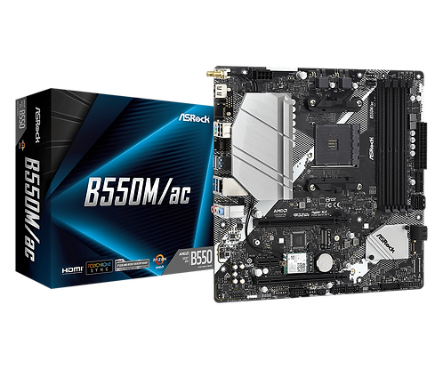 ASRock B550M/AC – AMD