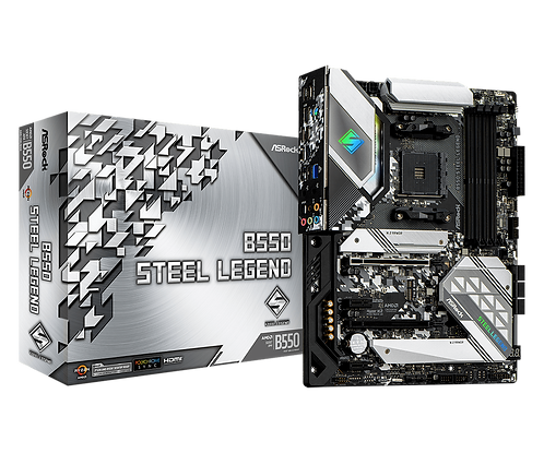 ASRock B550 STEEL LEGEND- AMD