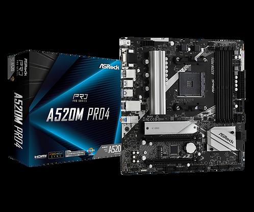 ASRock A520M PRO4 - AMD
