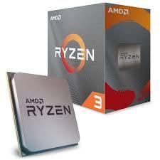 AMD Ryzen 3 3100,(4cores/8threads)