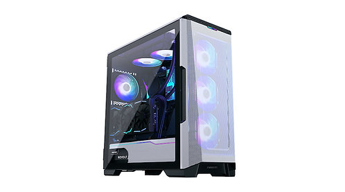 Phanteks Eclipse P500 Air, Tempered Glass, DRGB,Glacier White