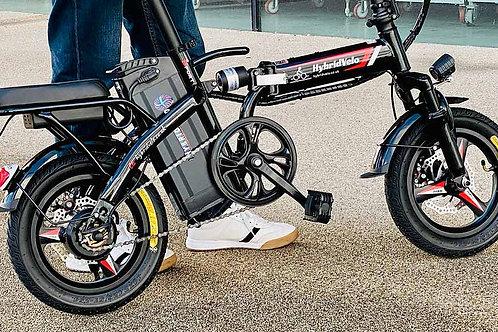 250W Electric Ebike Folding Lithium Bicycle