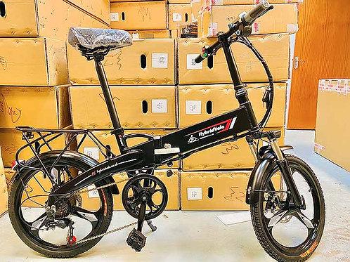 E-Bike Folding Lithium Battery Bicycle - Aluminium Frame 20 Inch