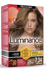 Luminance Kit 7.34 Rubio Dorado Cobrizo.