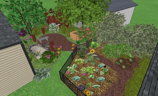 3D View of NEOhio Backyard