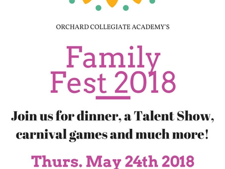 Join us for Family-Fest 2018!