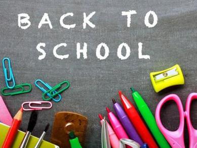 School Begins September 5th!