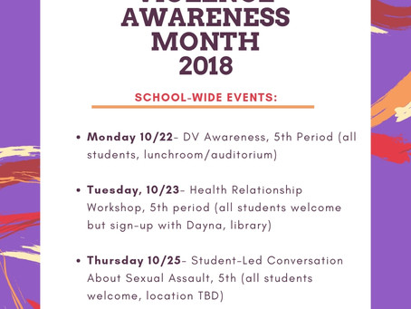 OCA Honors DV Awareness Month