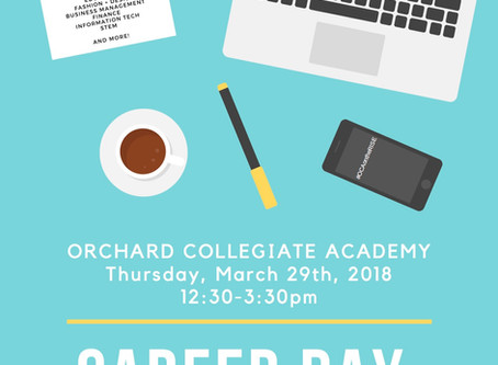 Save the Date! OCA's 2018 Career Day