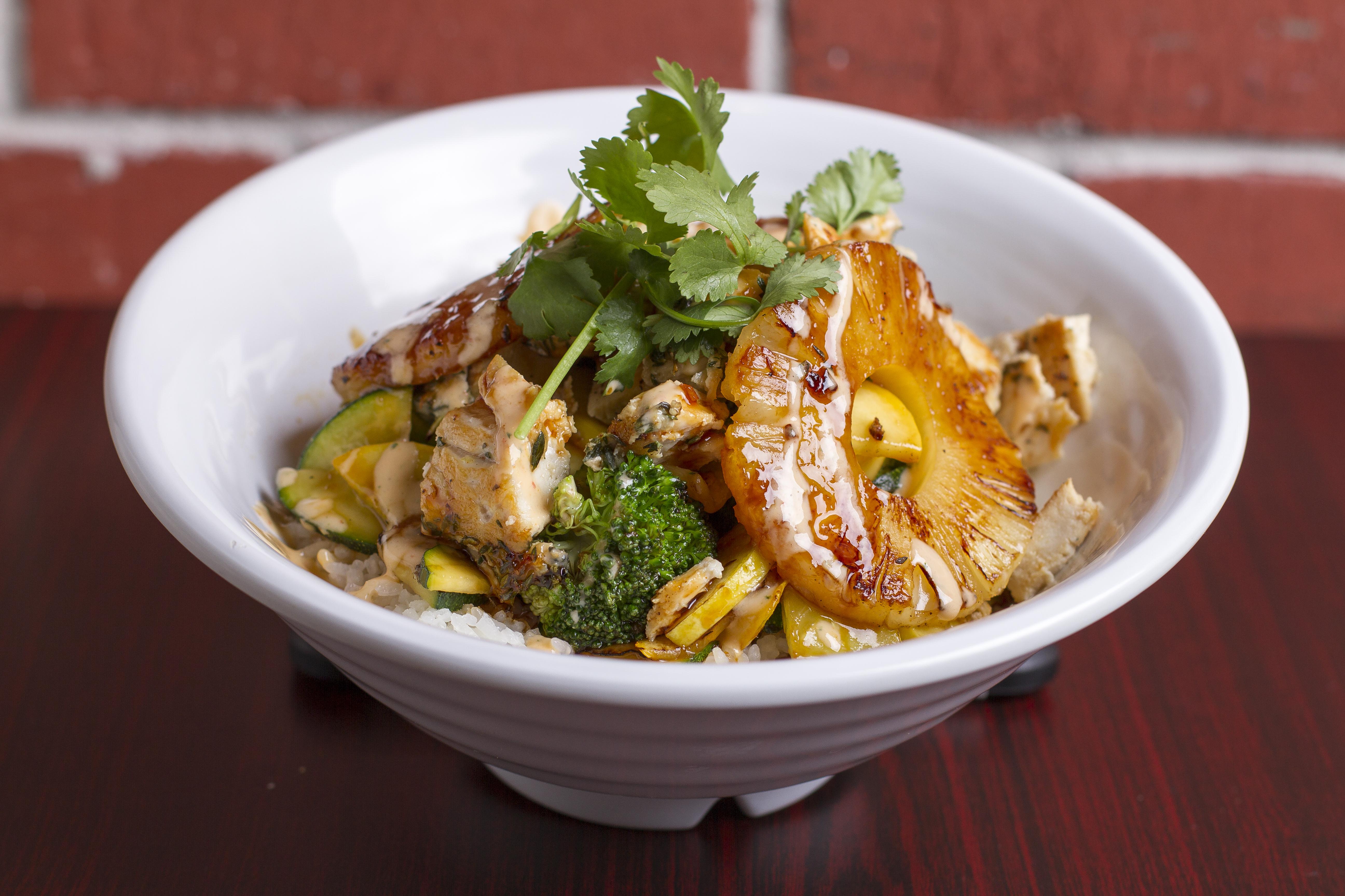 Yaki Chicken Bowl