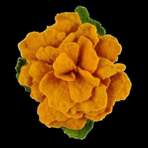 Brosche (gelb)
