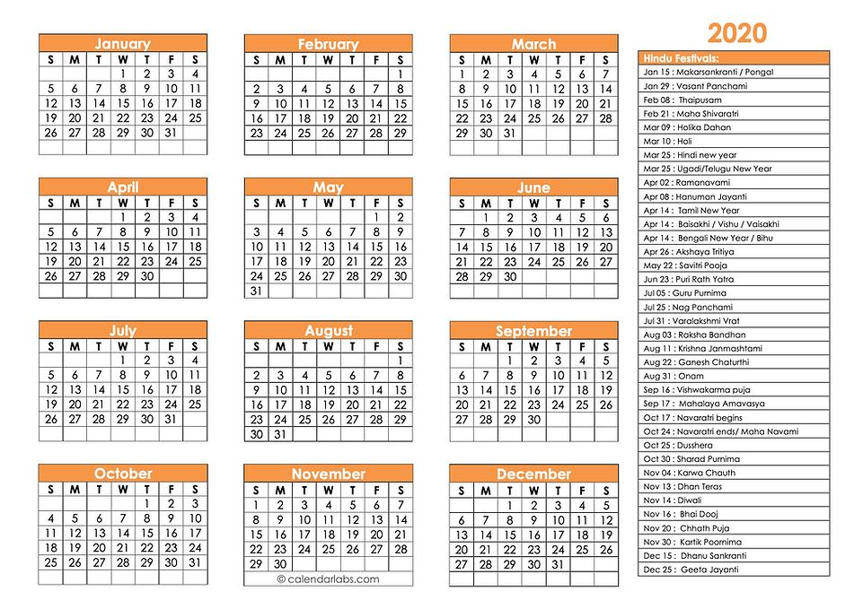 Microsoft Word - 2020-hindu-calendar.doc
