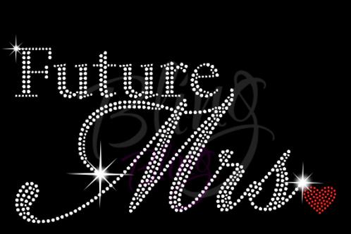 """Future Mrs"" Bling Tee"